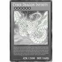 DUOV Cyber Dragon Infinity   Jumbo Oversized Card   YuGiOh Trading Card Game TCG