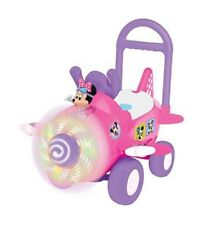 **Brand New Kiddie land Disney Minnie Mouse  Light Up & Sounds Ride-On Plane Toy