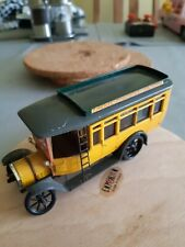 Rio Fiat Omnibus 1:43rd Scale Yellow for parts/repair or code3