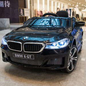 For BMW 6GT 6V Kids Ride On Car Electric Battery Powered W/ 2 Speeds Music