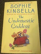 The Undomestic Goddess by Sophie Kinsella Paperback