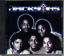 THE JACKSONS Triumph 1980 JAPAN Early Press CD 1991 RARE MICHAEL JACKSON
