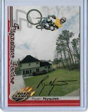 RARE 2000 AXS ROAD CHAMPS RYAN NYQUIST BMX CYCLING CARD ~ SIGNATURE SERIES
