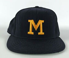 Michigan Wolverines Fitted Baseball Hat by Pennsylvania Headwear - Size 7 3/8