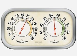 Springfield Color Track Humidity Meter and Thermometer