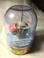 Micro Super Racing Full Function RC Remote Control #777 RED & WHITE CAR UNOPENED