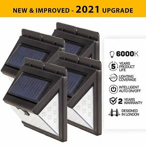 Genuine 40 LED Solar Security Lights UK Climate Designed - (Multiple Options)