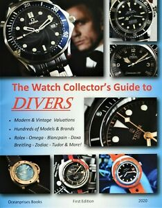 NEW Watch Collector Guide to Divers Book Rolex Submariner 16610 5513 5512 116610