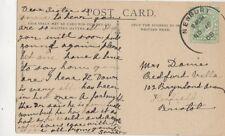 Newbury Skeleton Postmark 16 Nov 1908 438b
