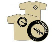 "..:: T-shirt ::.. TAN "" INSTRUCTEUR ISTC "" S - M - L - XL - XXL FAMAS Félin"