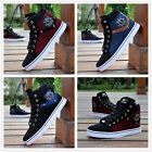 Men's High Top Fashion Sneakers Ankle Boots Lace Up Martin Casual Skate Shoes