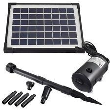 Agora-Tec® Solar Teichpumpe Solarpumpe Teich Pumpe Springbrunnenpumpe Garten Set