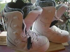 Ride Orion W Snowboard Boots Womens ~ US 7 ~ EUR 37 ~WHITE/BLUE/BLACK
