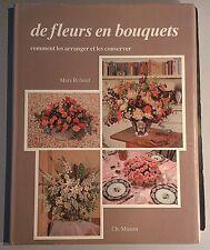 ROLAND Mary. De fleurs en bouquets. Ch. Massin.