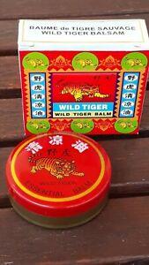 Wild Tiger Balm 10g Tin BNIB