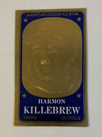 1965 Topps Embossed # 56 Harmon Killebrew Minnesota Twins Baseball Card HOF