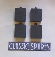 MG MGA TWIN CAM 1958-1960 NEW SET OF FOUR REAR BRAKE DISC PADS (JN533)