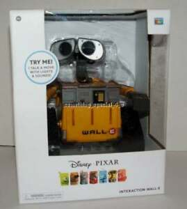New Disney Pixar Interaction Wall-e Voice Action Lights Sounds Interactive