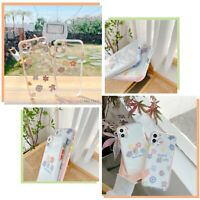 Cute Slim Flower Case Soft Clear Cover For iPhone 11 12 MINI PRO MAX 8 X XR