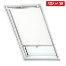 Skylight Blinds Blackout Thermal Dkl GGL Roof Windows Roler Blind White Easy Fit C04