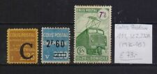 ! France 1936-1945. Colis Stamp. YT#CP111,122,232A. €73.00 !