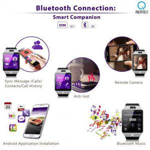 Bluetooth Smart Watch Android SIM card Pedometer Remote Anti-Theft Pics & Rewind