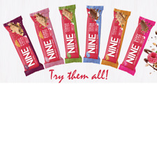 9 NINE Bar   Sale Case of 40g x 20 Bars   Vegan - FREE DELIVERY