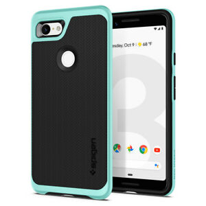 Pixel 3 / Pixel 3XL Case   Spigen®[Neo Hybrid] Dual Layer Shockproof Slim Cover