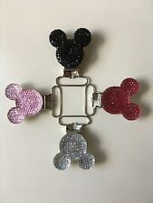 4 NEW  Disney Pacifier Clip Mickey mouse pacifier holder  BPA FREE