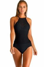 VITAMIN A SWIMWEAR NIGHTBIRD MONOKINI ONE PIECE CROCHET SWIMSUIT (M) NWT $195