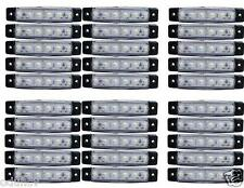 x30 12v 6SMD LED Delantero Blanco Claro Luces de marcaje Camión Trailer