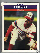 1987 - CHICAGO WHITE SOX - Rothaus book - hard back