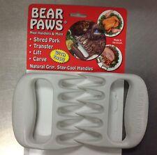 BEAR PAWS POLAR CLAWS LIFT MEAT HANDLER TONG FORK  SHRED PORK BBQ GRILL SMOKER