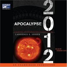 BOOK/AUDIOBOOK CD Lawrence Joseph End Of World Mayan Calendar APOCALYPSE 2012