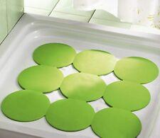 Tappeto doccia bagno antiscivolo Giotto in gomma verde