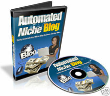 Automated Niche Blog Video Tutorials on 1 CD