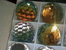 Swarovski Sahara 18mm Faceted Globes Disco Balls Insanely Gorgeous !