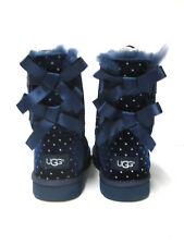 Ugg Bailey Bow Starlight Women Boots Navy US Youth 4 / Women 6