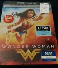 Sold Out NEW BESTBUY Wonder Woman Steelbook 4K + Blu-ray + Digital Code WITH PIN