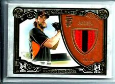 2016 Topps Museum Meaningful Material Madison Bumgarner D #25/35 San Fran Giants