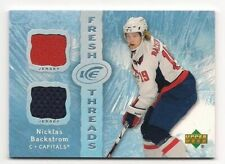 Nicklas Backstrom 07-08 Upper Deck Ice Fresh Threads Dual Game Jersey