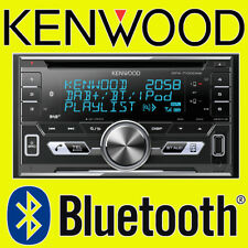 KENWOOD CAR/VAN CD/MP3, AUX-IN, USB IPOD/IPHONE, DOUBLE DIN DAB BLUETOOTH STEREO
