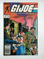 1987 G.I. Joe #62 Marvel Copper Age COMIC BOOK