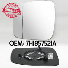 Left Wing Mirror Heated Wide Angle Glass & Base For VW Volkswagen Caddy 04-10