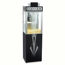 NEW ART DECO 6 oz POPCORN POPPER MACHINE and BASE by GOLD MEDAL PRODUCTS CO.