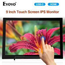 """9"""" Touch Screen USB C HDMI Monitor for Smartphone Xbox one Nintendo Switch PS4"""