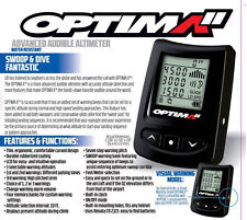 New L&B Optima2 Parachute Skydiving Electronic Digital Audible Altimeter