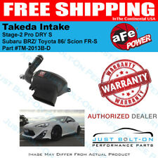 aFe Takeda Stage-2 Pro DRY S fits 2012-2017 FR-S / 86 / 2013-2016 BRZ TM-2013B-D