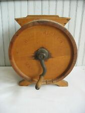 Antique Rotary Butter Churn No. 0 Improved John B  Varick CO New England USA