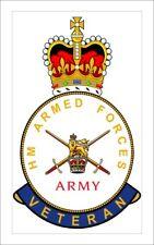 British Army Veterans crested Fridge Magnet